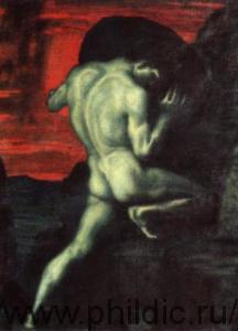 Сизиф — символ абсурдности человеческого существования. Картина Франца фон Штука